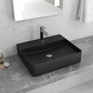Lavabi da appoggio di design serie BLACK