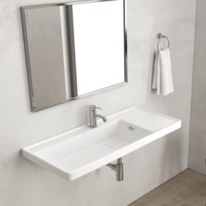 Lavabi e piani lavabo sospesi novità 2018