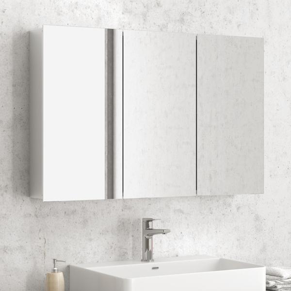 Specchio con contenitore per bagno d 39 hotel federhotel kg - Specchio contenitore bagno prezzi ...