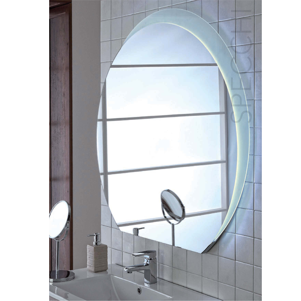 Specchio Bagno Led 100.Specchio Retroilluminato Per Bagno D Hotel Federhotel Kg Fh Bh Led