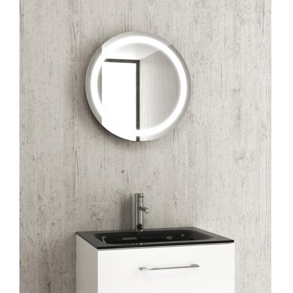 Specchi a muro con armadio contenitore archives feder hotel - Specchio retroilluminato bagno ...